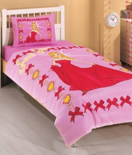Детско спално бельо - Барби