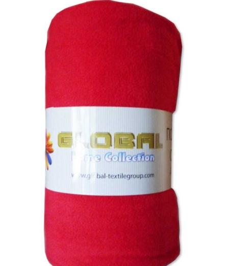 Поларено одеяло – Червено