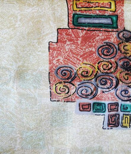 Долен чаршаф за легло – Фигури