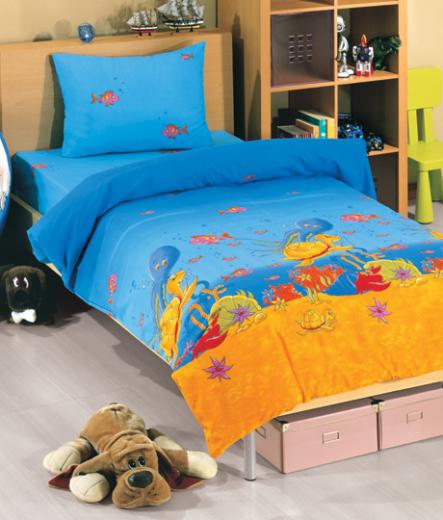 Детско спално бельо – Аквариум
