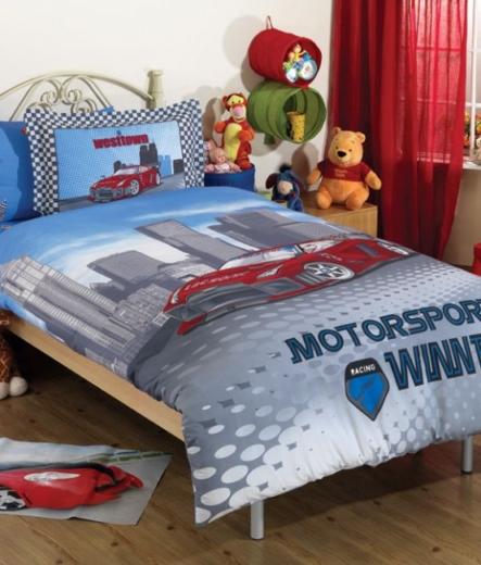 Детско спално бельо – Състезател