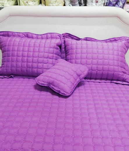 Луксозно шалте за легло – Лилав