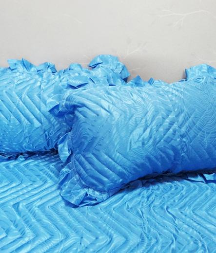 Кувертюра за спалня - Стил в синьо