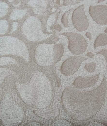 Едноцветно шалте за легло Флорал 01